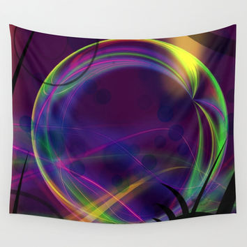 It's An Alien World Wall Tapestry by Minx267