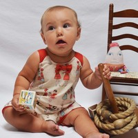 Shirley & Victor by Majamas Baby Girl Peggie Onesuit