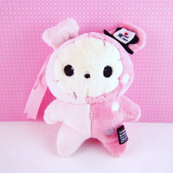 Sentimental Circus Shappo Ringmaster Pink Rabbit San-x Plush UFO Catcher Kawaii Keychain charm