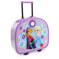 Anna and Elsa Rolling Luggage - Frozen