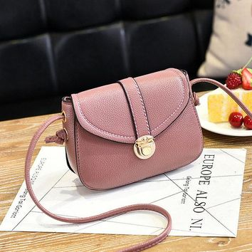 Women FLap PU Leather Crossbody Bag