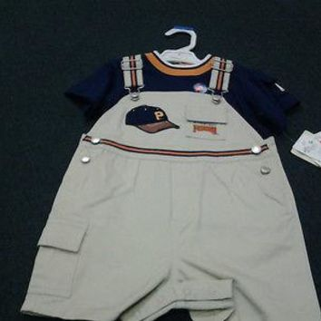 PITTSBURGH PIRATES CARTERS INFANT OUTFIT