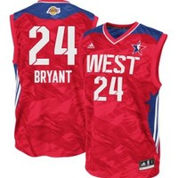 adidas Men's 2013 NBA All-Star Game Kobe Bryant #24 Replica Red Basketball Jersey - Dick's Sporting Goods