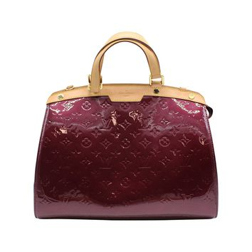 Louis Vuitton Rouge Fauviste Vernis Brea MM Tote Bag Handbag