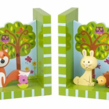 Woodlands Bookends by Orange Tree Toys