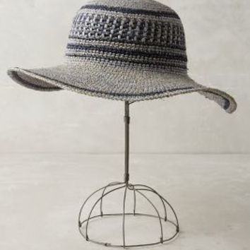 Norte Sun Hat by Anthropologie in Blue Size: One Size Hats