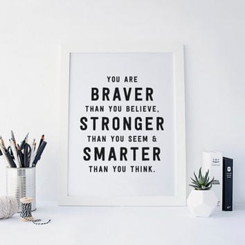 Best Braver Than You Believe Products On Wanelo