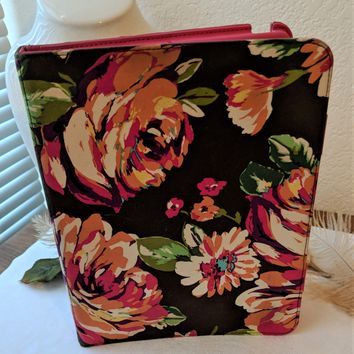 Vera Bradley English Rose Tablet Folio