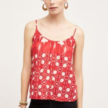 Velvet by Graham and Spencer Corfu Tank in Red Motif Size: