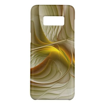 Colors of Precious Metals, Abstract Fractal Art Case-Mate Samsung Galaxy S8 Case