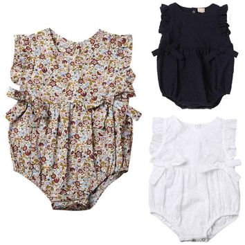 Adorable Baby Rompers  Floral