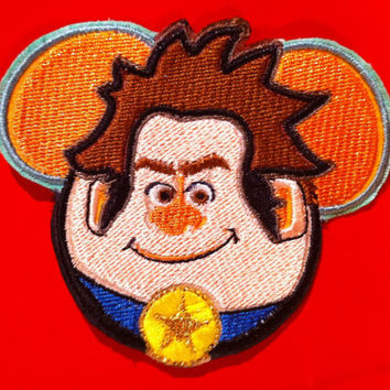 Disney Pixar Wreck it Ralph Inspired Mouse Ear Patch