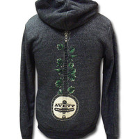 The Avett Brothers Merchandise Store  - The Avett Brothers  Sweatshirts  Banjo Ivy Zip-up Hoodie
