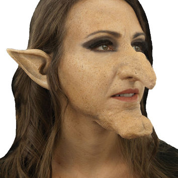 costume accessory: witch hazel kit nose chin