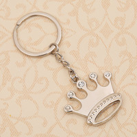 Princess Queen Crown Keychain