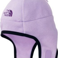 The North Face Noggin Baby/Infant Light Purple Winter Fleece Trapper Beanie