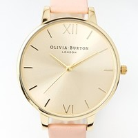 Olivia Burton Big Dial Dusky Pink Watch