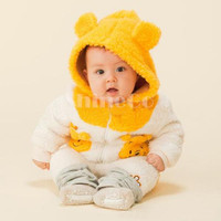 New Smart Unisex Baby Infant Toddler Cotton Blended Thicken Cartoon long sleeve Hoodies Sweatshirt Coat Clothing For Spring/Autumn/Winter