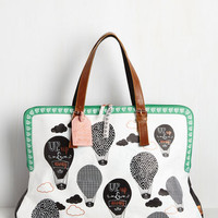 Keepsake on the Sunny Side Weekend Bag | Mod Retro Vintage Bags | ModCloth.com