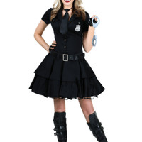 Women's Playful Police Costume