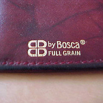 Fashionisto Montrose No Cost To Send Bosca Full Grain Leather Eyeglasses Case Vtg