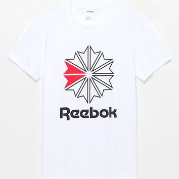 ONETOW Reebok Classics Graphic White T-Shirt at PacSun.com