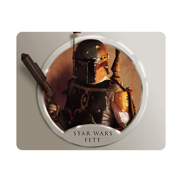 Awesome Star Wars Mouse Pad Fett