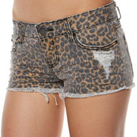 BILLABONG LOVIN LIFE SHORT - CHEETAH