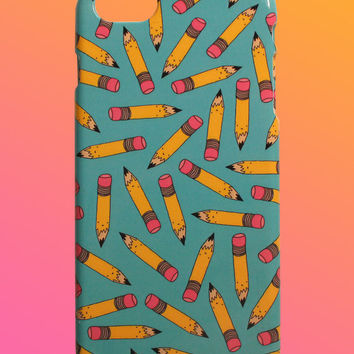Pencil Pattern- iPhone Case