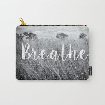 Breathe Carry-All Pouch by ALLY COXON