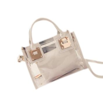 Clear Jelly Shoulder Bag