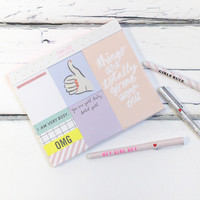Thumbs Up Sticky Note Set
