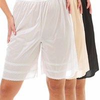Snip-A-Length Pettipants 3-Pack - Underworks
