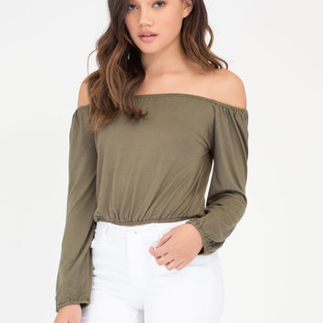 Flirty Fresh Off-The-Shoulder Top GoJane.com