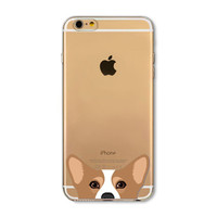 Funny Cat dog Pig Soft iPhone 5 Case
