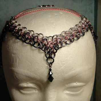 Fairy / Elf  Princess chainmail Headdress