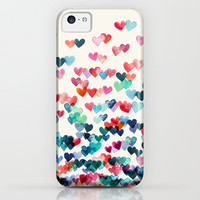 Heart Connections - watercolor painting iPhone & iPod Case by Micklyn