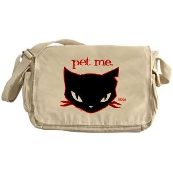 Sabbath - Pet Me Messenger Bag> Sabbath - Pet Me> OFFICIAL Emily the Strange