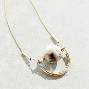 Great-Minded Marble Necklace