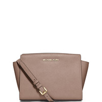 Selma Medium Messenger Bag, Dark Dune - MICHAEL Michael Kors