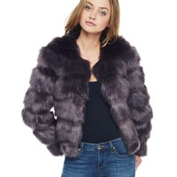 Faux Mink Jacket by Juicy Couture