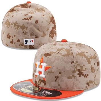 Houston Astros New Era Memorial Day 59FIFTY Fitted Hat – Camo