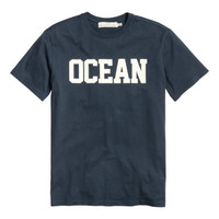H&M T-shirt with Printed Design $12.99