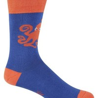 Sock It To Me Men's Crew Socks,Octopus,One Size Fits Most