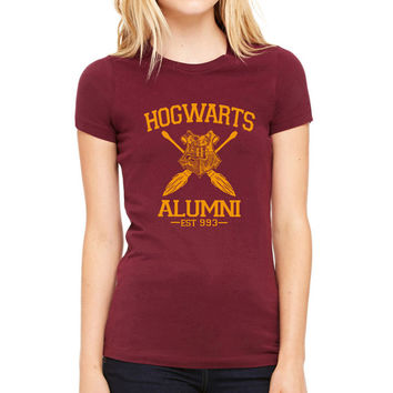 Hogwarts Alumni Shirt Harry Potter custom shirt , custom tshirt unisex, male and female S-XXL