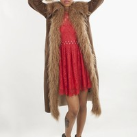 BB Dakota Faux Shearling Blinda Coat | MessesOfDresses.com