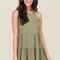 Charlie Ruffle Knit Shift Dress