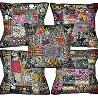 5pc set Decorative throw Pillows for couch, yoga pillows, meditation pillows, seating cushions, chair cushions, outdoor pillow cushion cover