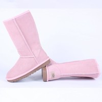 ugg bow leather boots boots in tube  number 2