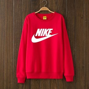 NIKE Woman Men Top Sweater Pullover